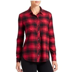 Cute plaid Athleta shirt in XS